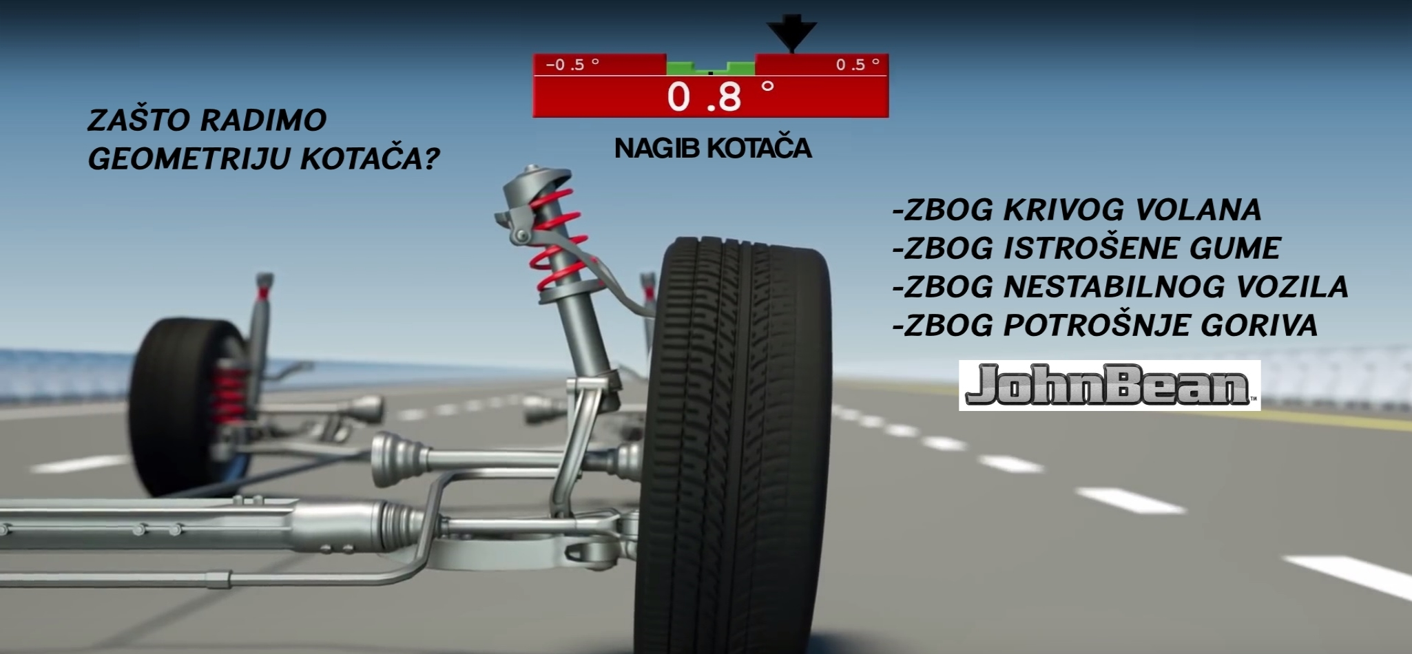 AUTO LADAVAC JOHN BEAN OPTIKA